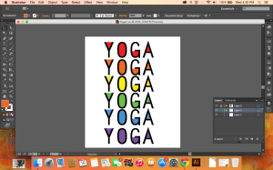 Screenshot of Yoga Graphic